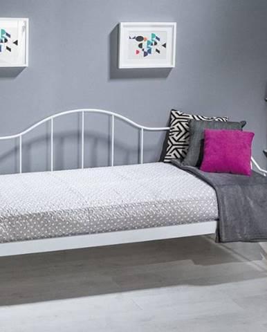 Signal Jednolôžková posteľ DOVER / biela