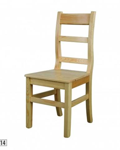 Drewmax Jedálenská stolička - masív KT114 / borovica