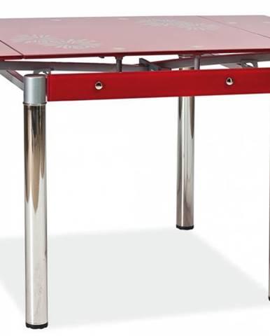 Signal Jedálenský stôl GD-082 červený