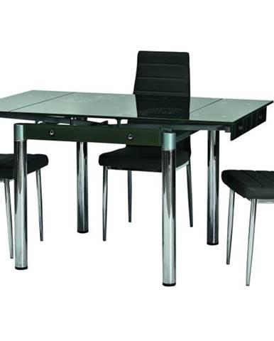 Signal Jedálenský stôl GD-082 čierny