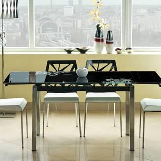 Signal Jedálenský stôl GD-017 čierny