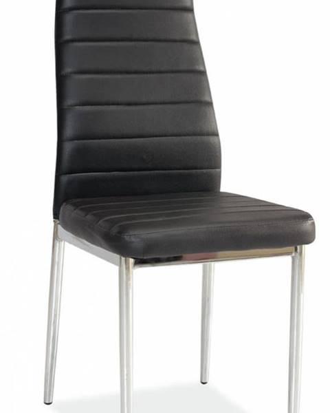 Signal Signal Jedálenská stolička H-261 čierna