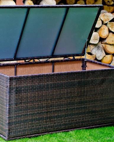 Bello G Záhradná ratanová truhlica AC003