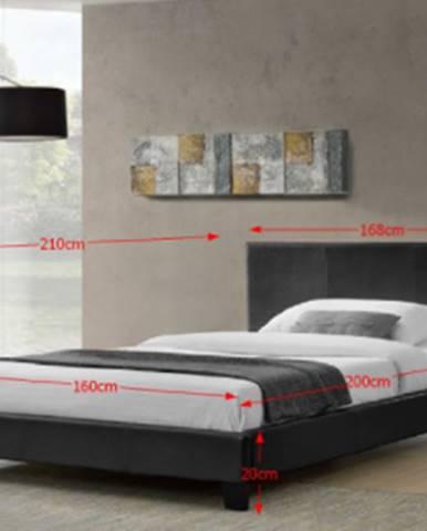 Tempo Kondela Manželská posteľ Nadira