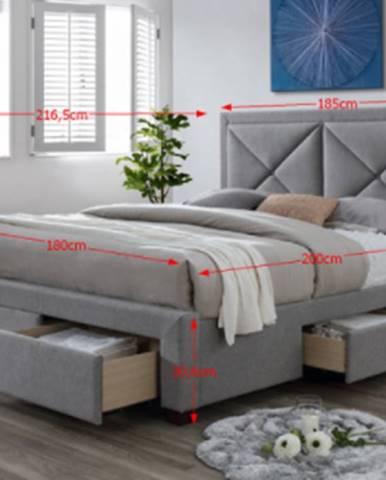 Tempo Kondela Manželská posteľ Xadra