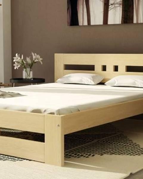 Dolmar Dolmar Drevená posteľ Roma