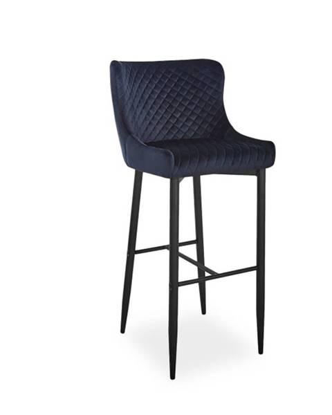 Signal Signal Barová stolička COLIN B H-1 Velvet