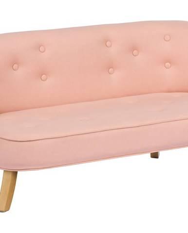 ArtSB Pohovka Eco Linen - Powder Pink