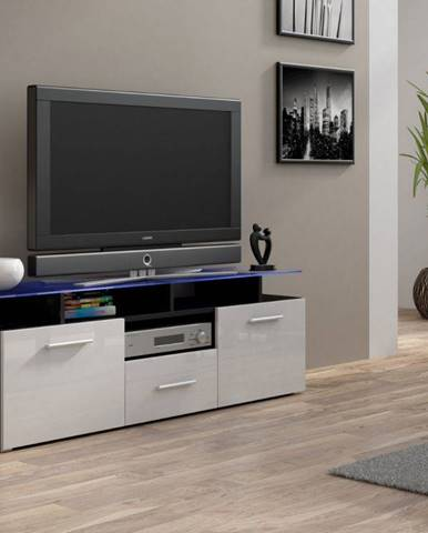 Artcam RTV stolík EVORA mini čierny