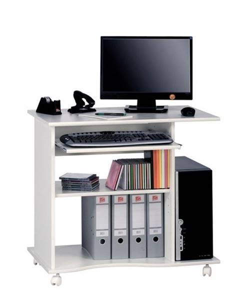 Sconto PC stôl CASH biela