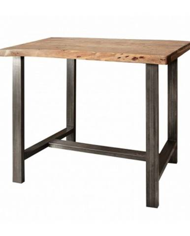 Barový stôl GURU akácia/kov