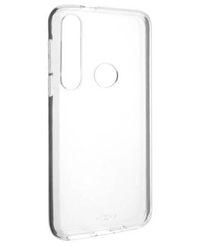 Kryt na mobil Fixed na Motorola Moto G8 Plus priehľadný