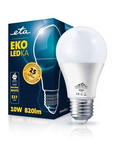 LED žiarovka ETA EKO LEDka klasik 10W, E27, neutrálna biela