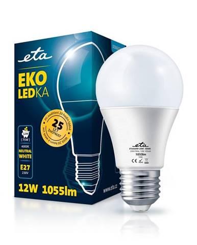 LED žiarovka ETA EKO LEDka klasik 12W, E27, neutrálna biela