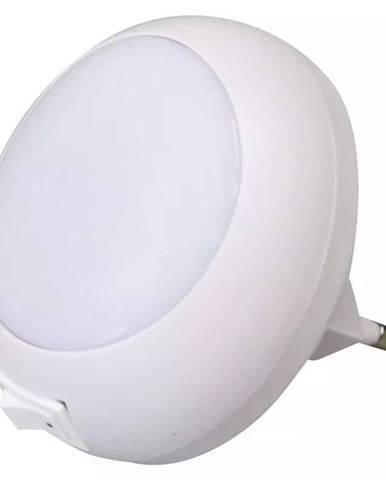 Nočné svetlo Emos do zásuvky, 5 x LED biele