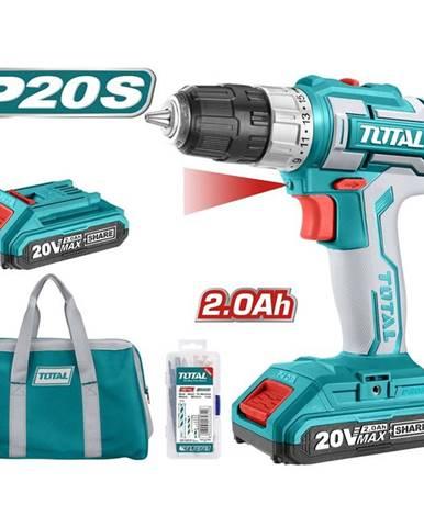 Aku vŕtačka Total tools Tdli20025