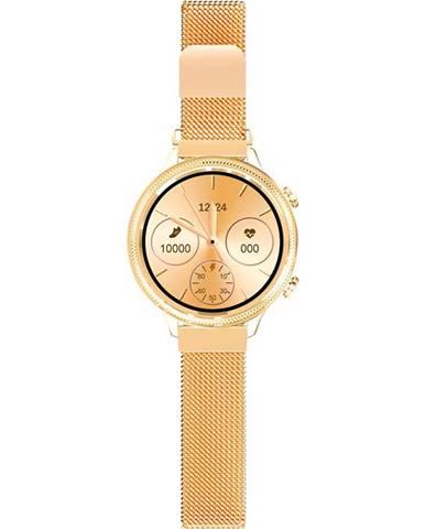 Inteligentné hodinky Aligator Lady Watch zlaté