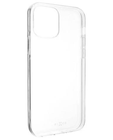 Kryt na mobil Fixed Skin na Apple iPhone 12/12 Pro priehľadný