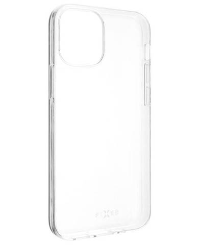 Kryt na mobil Fixed Skin na Apple iPhone 12 mini priehľadný