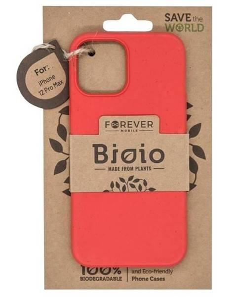 Forever Kryt na mobil Forever Bioio na Apple iPhone 12 Pro Max červený