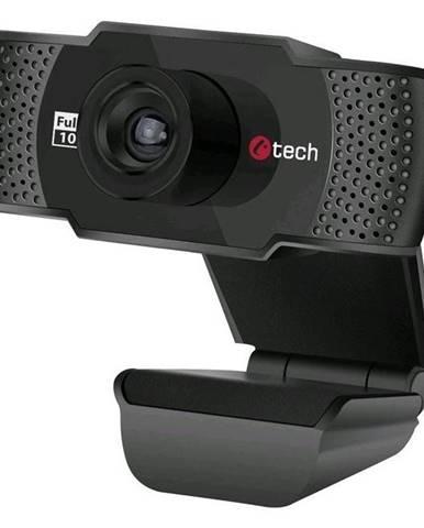 Webkamera C-Tech CAM-11FHD, 1080p čierna
