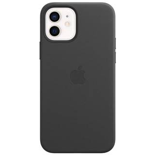 Kryt na mobil Apple Leather Case s MagSafe pre iPhone 12 a 12 Pro -