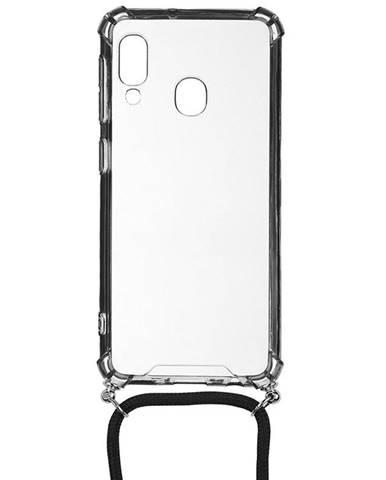 Kryt na mobil WG Crossbody na Samsung Galaxy A20e priehľadná