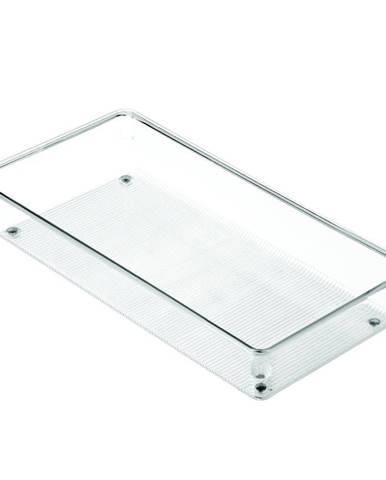 Priehľadný kuchynský organizér iDesign Linus, 30,5 x 15 cm