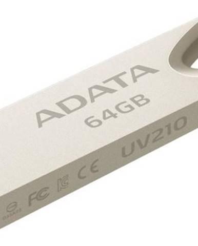 USB flash disk Adata UV210 64GB kovový