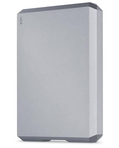 Externý pevný disk Lacie Mobile Drive 4TB, USB-C sivý