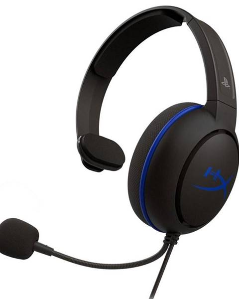 HyperX Headset  HyperX Cloud Chat - PS4 čierny/modrý