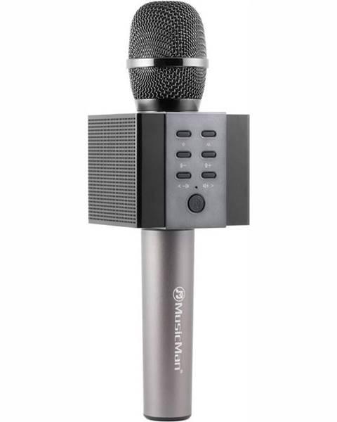 Technaxx Prenosný reproduktor Technaxx Elegance, karaoke mikrofon čierny
