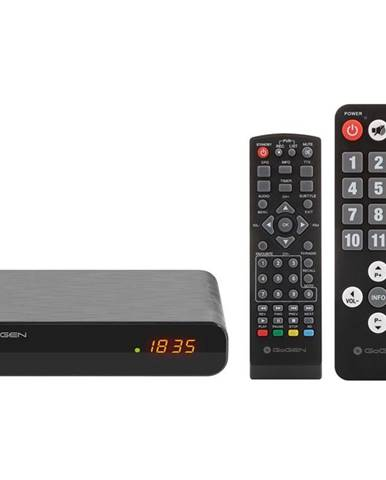 Set-top box Gogen DVB 133 T2 Senior čierny