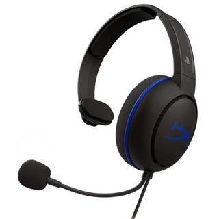 Headset  HyperX Cloud Chat - PS4 čierny/modrý