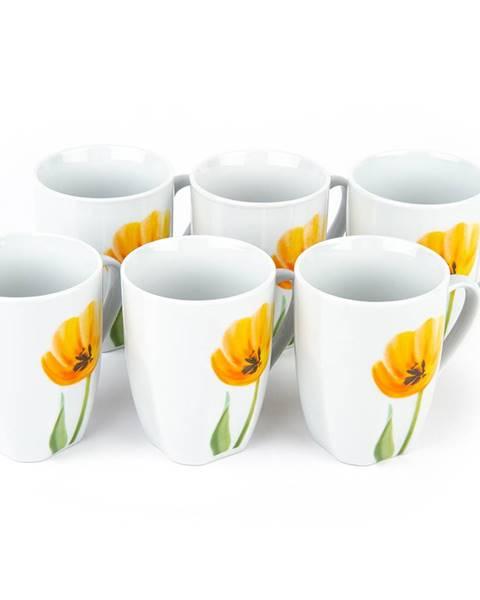 Mäser Domestic Sada hrnčekov Tulip 310 ml, 6 ks