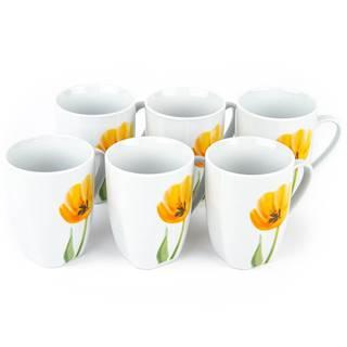 Domestic Sada hrnčekov Tulip 310 ml, 6 ks
