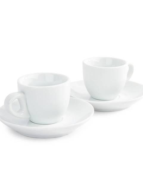 Mäser Mäser Sada 2 šálok a 2 podšálok na Espresso, 80 ml