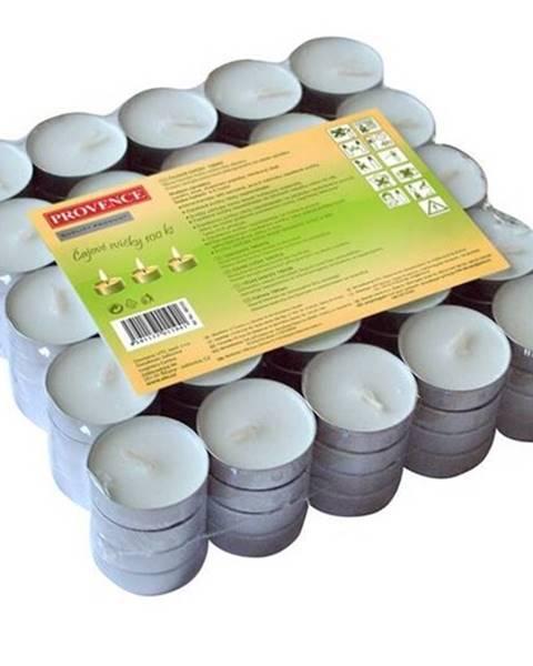 Banquet Provence Čajová sviečka 100 ks biela