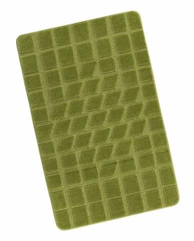 Bellatex Kúpeľňová predložka Štandard Mach zelená, 60 x 100 cm