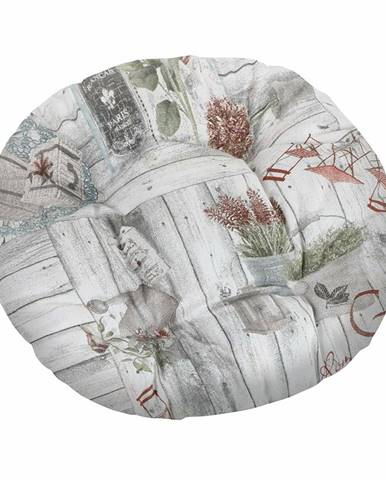 Bellatex Sedák okrúhly Ema Terasa, 40 cm