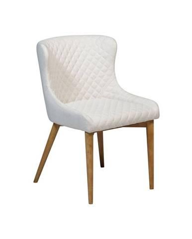 Krémová jedálenská stolička DAN-FORM Denmark Vetro