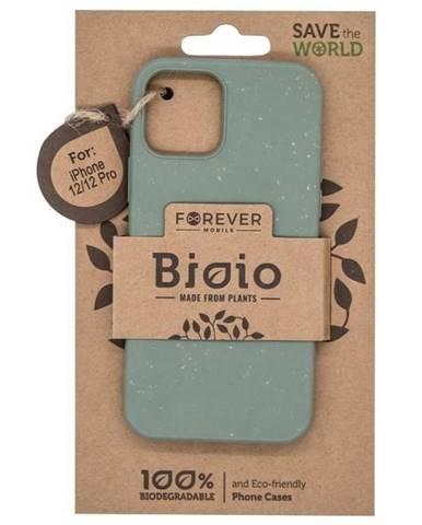 Kryt na mobil Forever Bioio na Apple iPhone 12/12 Pro zelený