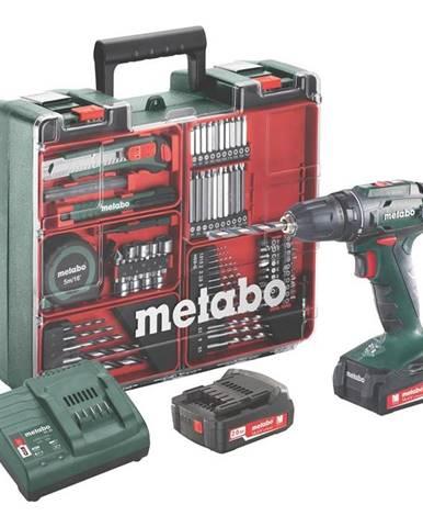 Aku vŕtačka Metabo BS14.4Set MD 602206880 zelen