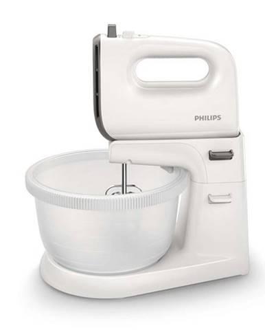Ručný šľahač s misou Philips Viva Collection HR3745/00 sivý/biely