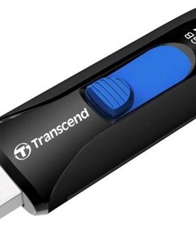 USB flash disk Transcend JetFlash 790K 32GB čierny/modrý