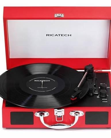 Gramofón Ricatech RTT21 Advanced červený