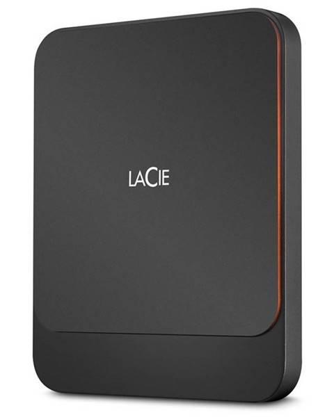 Lacie SSD externý Lacie Portable 1TB, USB-C čierny
