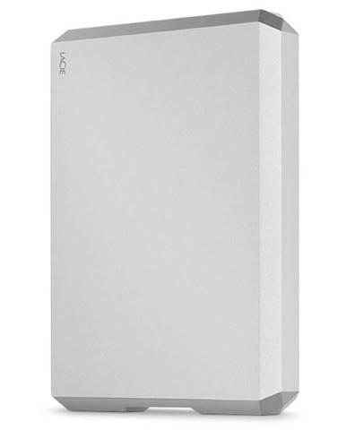 Externý pevný disk Lacie Mobile Drive 4TB, USB-C strieborný