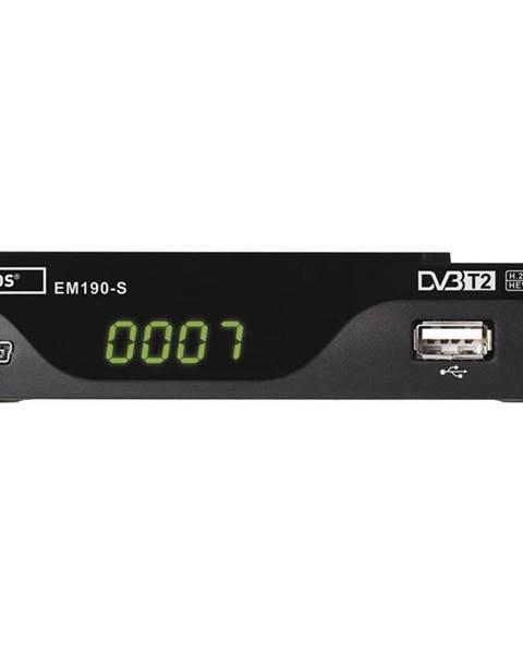EMOS Set-top box Emos EM190-S HD čierny