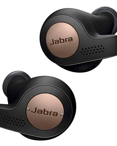 Jabra Slúchadlá Jabra Elite 65t čierna/medená